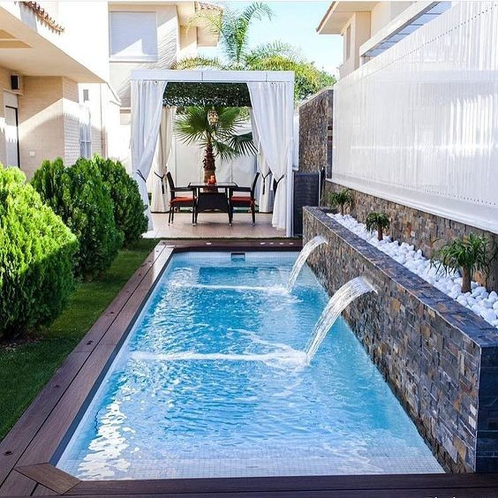 36 Stunning Small Pool Ideas For Small Backyard Hoomdesign within 10 Awesome Ideas How to Make Small Backyard Pool Ideas