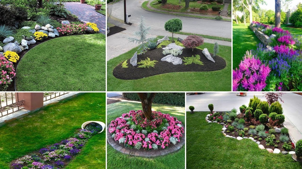 40 Awesome And Cheap Landscaping Ideas Youtube intended for Landscaping Ideas Backyard On A Budget