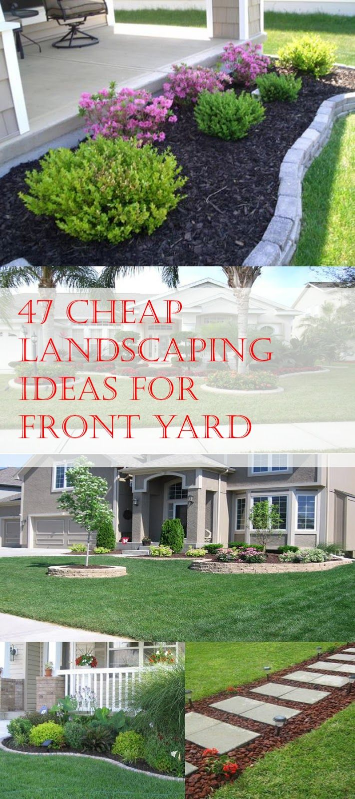 47 Cheap Landscaping Ideas For Front Yard Landscaping Ideas within Backyard Cheap Landscaping Ideas