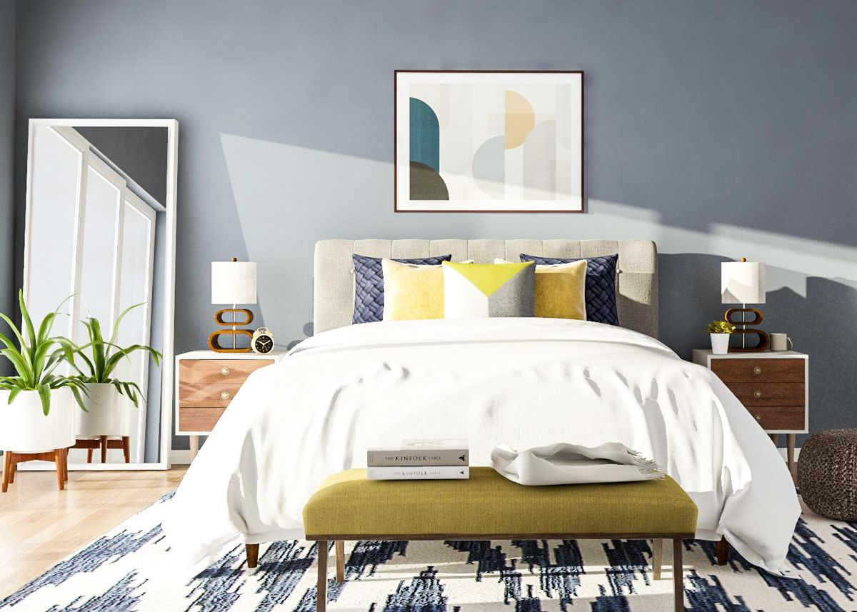 7 Mid Century Modern Bedroom Ideas To Try In Your Space Bedroom pertaining to Mid Century Modern Bedroom Design