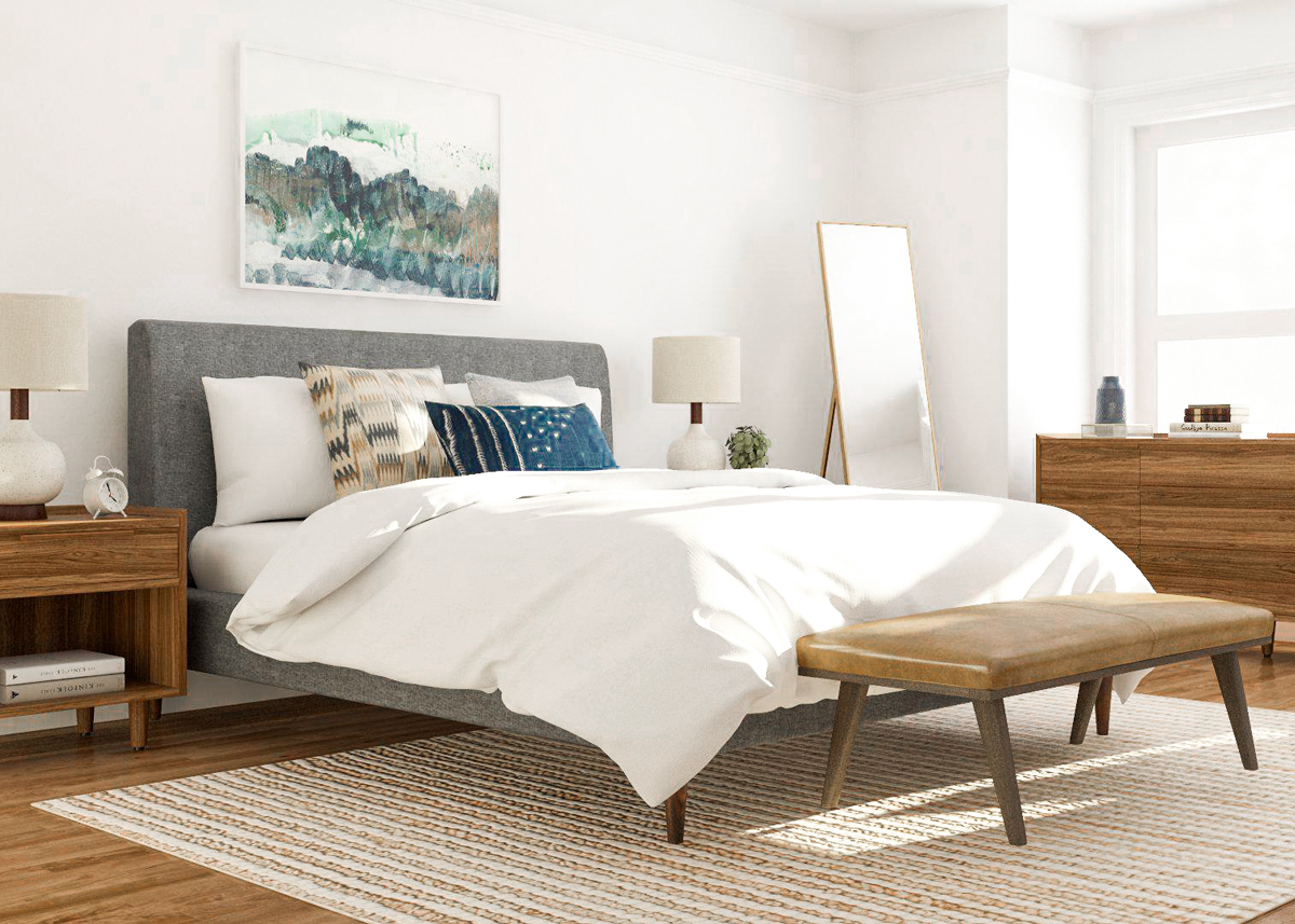 7 Mid Century Modern Bedroom Ideas To Try In Your Space for Mid Century Modern Bedroom Design