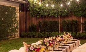 A Bohemian Backyard Dinner Party Outdoor Decor Landscaping Curb with 12 Some of the Coolest Initiatives of How to Build Backyard Decorations