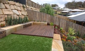 Add A Level To Your Deck In Your Sloped Backyard within 13 Clever Concepts of How to Makeover Sloped Backyard Deck Ideas