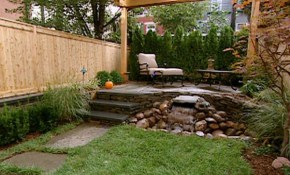 Amazing Design Small Yard Landscaping Designs Yards Big Custom intended for Landscape Designs For Backyard