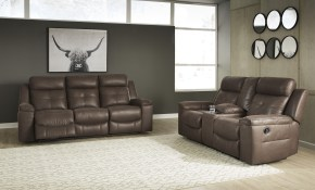 Ashley Jesolo 2pc Coffee Reclining Sofa Loveseat Set Dallas Tx for 12 Clever Initiatives of How to Improve Ashley Leather Living Room Sets