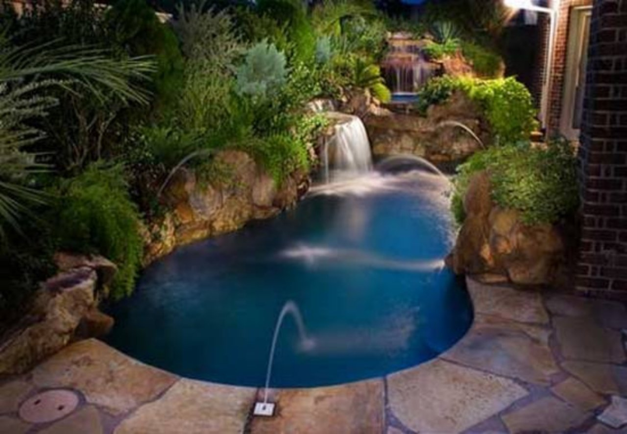 Awesome Backyard Pool Ideas Vanilla Hg intended for Small Backyard Pool Ideas