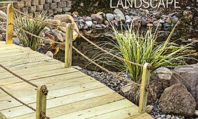 Backyard Bridge Plans Woodarchivist throughout Backyard Bridge Ideas