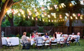 Backyard Party Ideas Design Builders within Backyard Decorations For Party