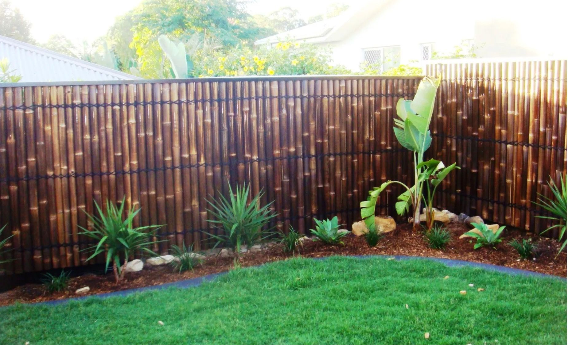 Bamboo Fence Outdoor In 2019 Bamboo Garden Fences Bamboo Fence inside 15 Smart Designs of How to Make Bamboo Ideas For Backyard