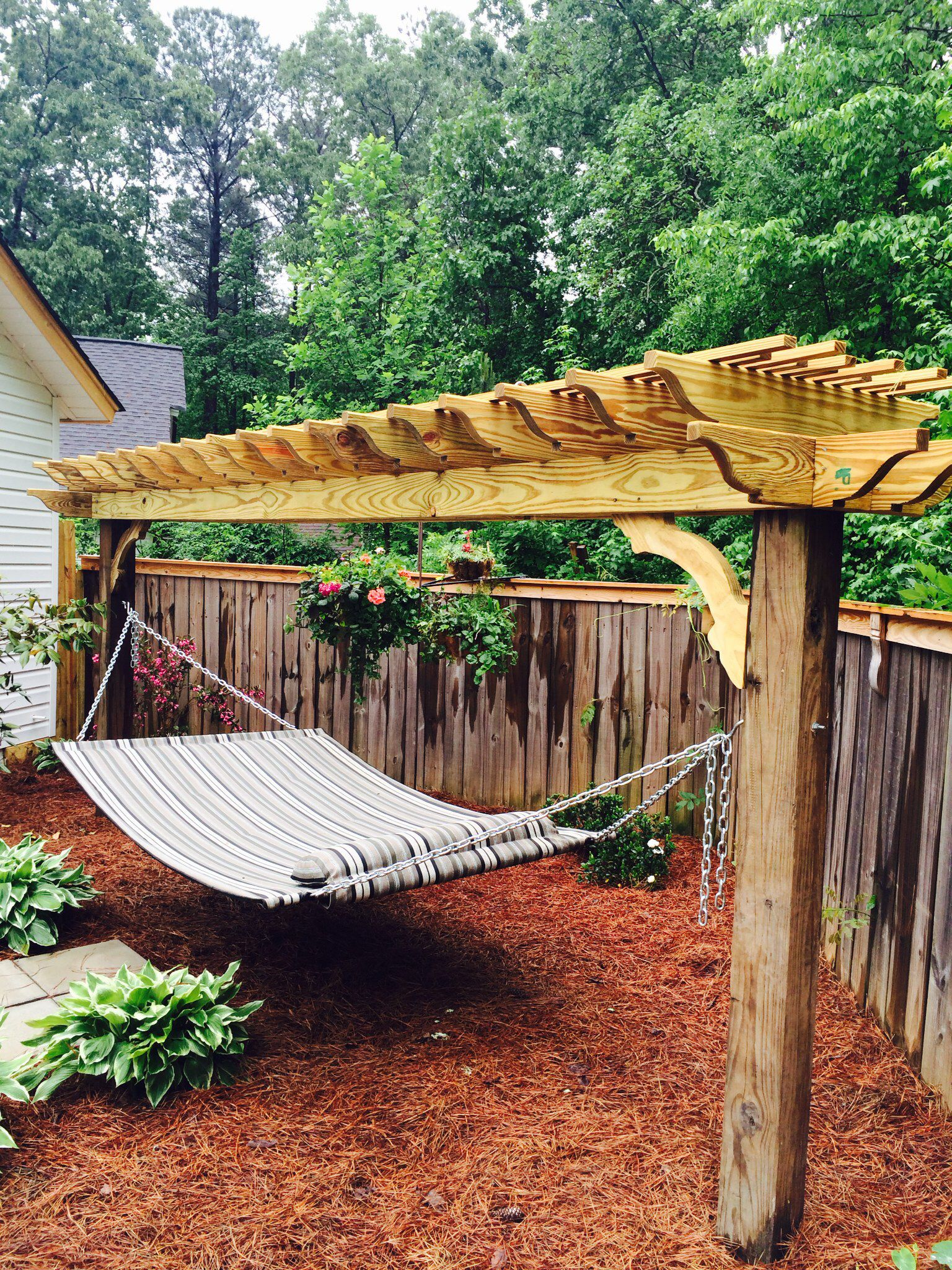 Beautiful Hammock Stand Backyard Ideas Backyard Hammock Diy pertaining to Backyard Hammock Ideas