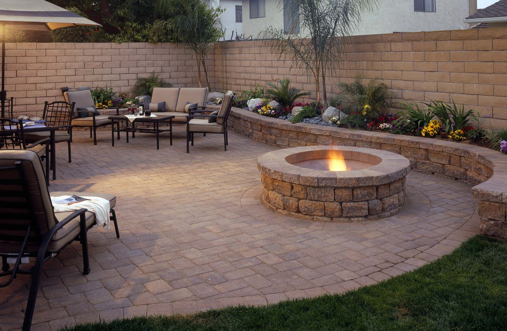 Best Backyard Paver Patio Ideas Designs Design Idea And Decor throughout 12 Some of the Coolest Ways How to Craft Backyard Landscaping Ideas With Pavers