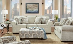 Charisma Linen Sofa And Loveseat Fabric Living Room Sets regarding Affordable Living Room Sets