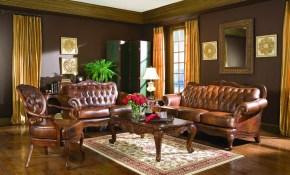 Coaster Victoria Leather Living Room Set within 14 Some of the Coolest Initiatives of How to Craft Leather Living Room Sets