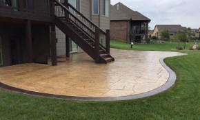 Concrete Patio Ideas Pictures Awesome Patio Ideas How To Mix regarding 10 Awesome Tricks of How to Improve Cement Backyard Ideas
