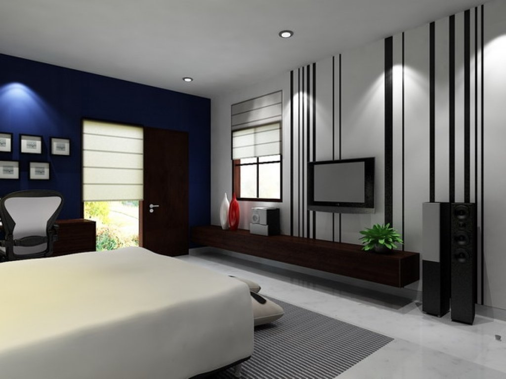 Decorating Modern Wallpaper Designs Pixelbox Home Design inside Modern Bedroom Wallpaper