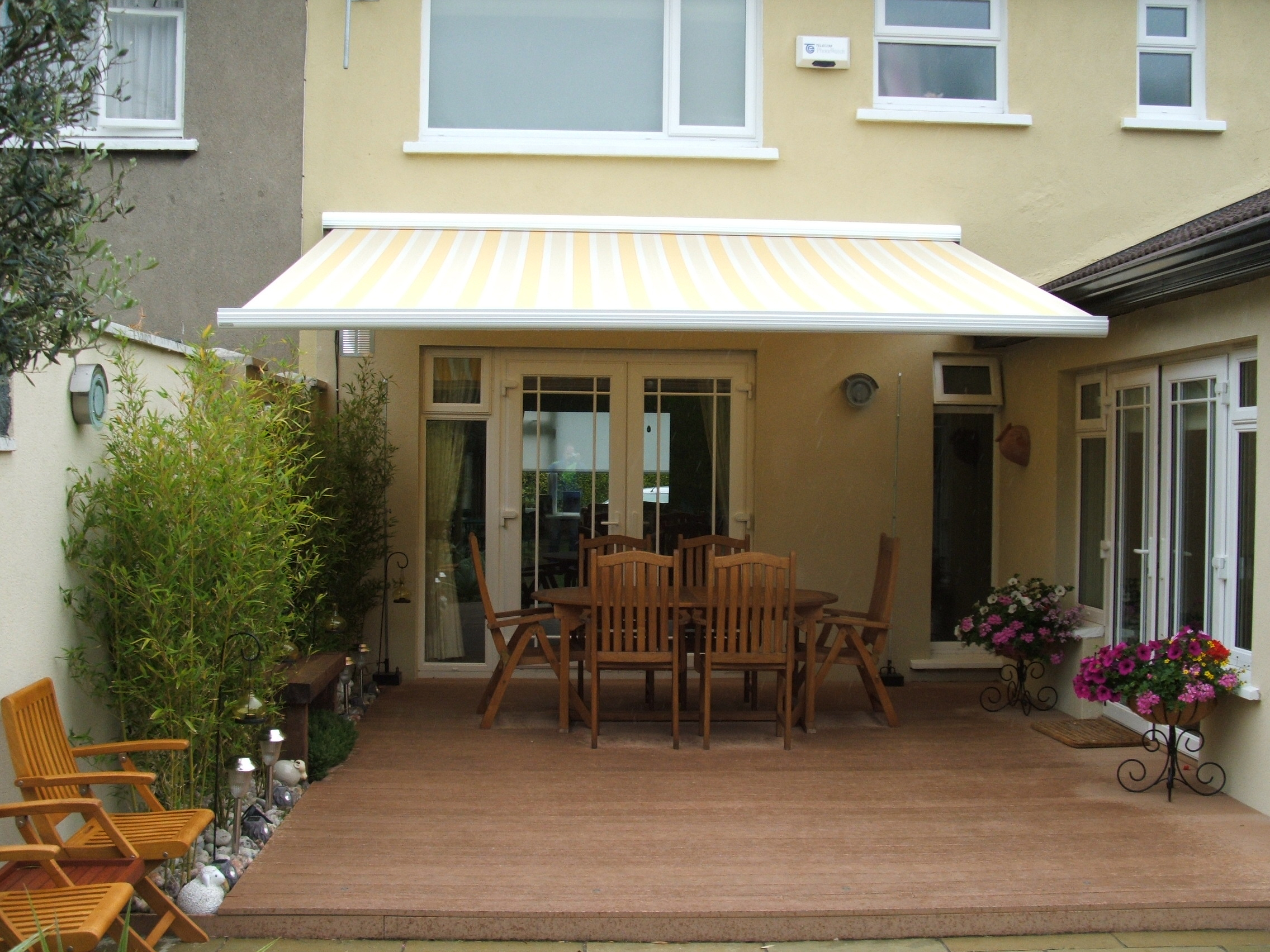 Design And Combination For Backyard Awnings Home Decor throughout Backyard Awning Ideas