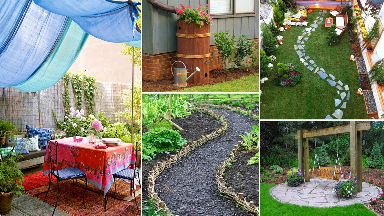 Easy And Creative Diy For Backyard Ideas On A Budget Garden Ideas throughout 14 Genius Ways How to Upgrade Backyard Ideas For Cheap