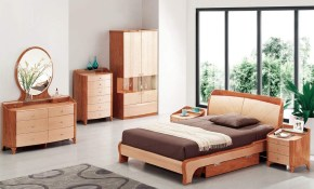 Exotic Wood Modern High End Furniture With Extra Storage Chesapeake inside Modern Wood Bedroom