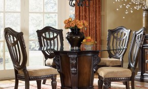 Fairmont Designs Grand Estates 5 Piece Dining Table And Chairs Set pertaining to 5 Piece Living Room Set