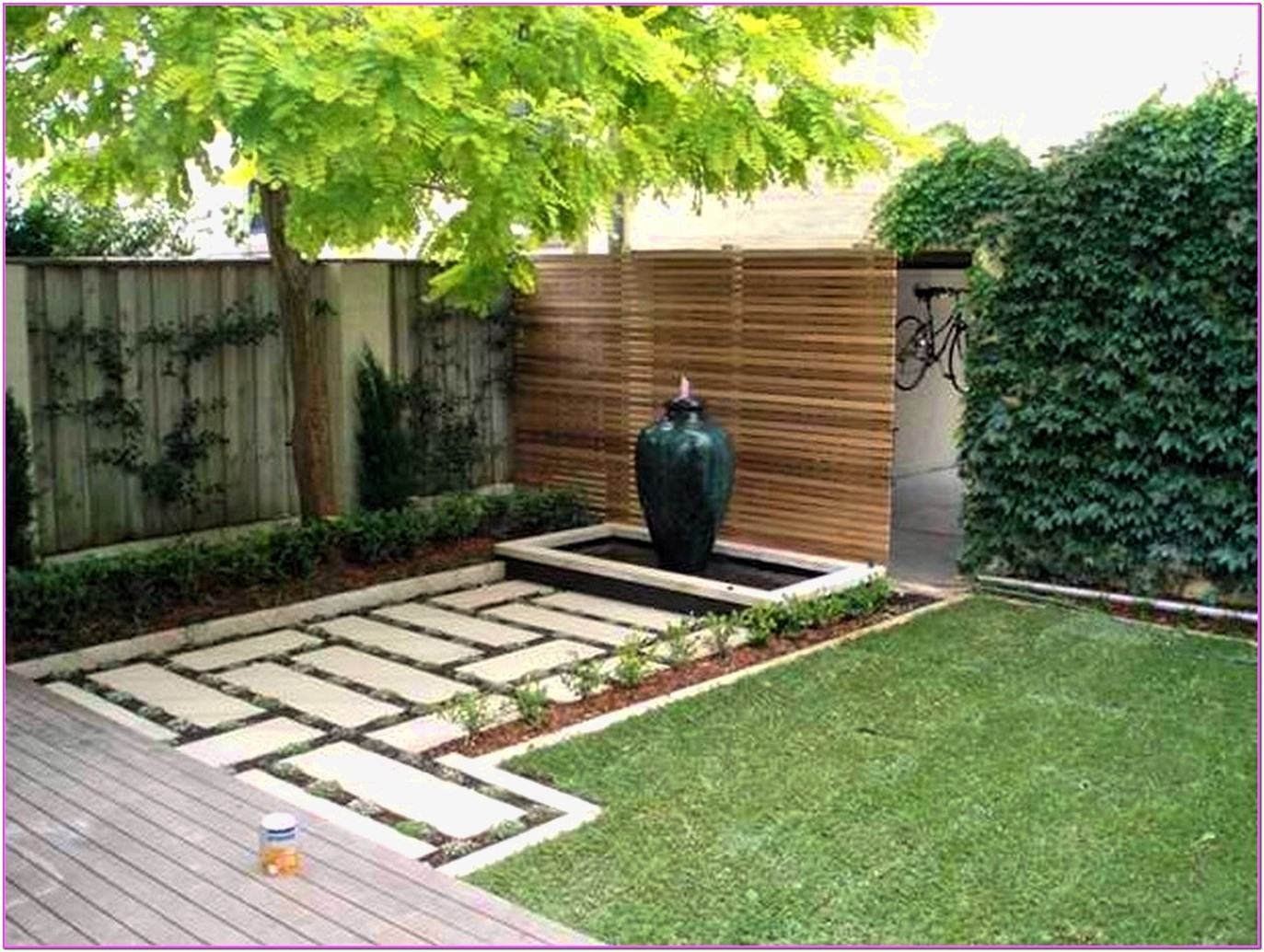Garden Ideas Cheap Landscaping For Best Small Yard Landscaping Ideas pertaining to Backyard Decor Ideas On A Budget