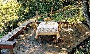 Great Deck Ideas Terraced Garden Ideas Steep Backyard Sloped inside 13 Clever Concepts of How to Makeover Sloped Backyard Deck Ideas