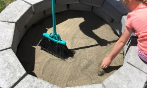 How To Build A Diy Fire Pit For Only 60 Keeping It Simple within Backyard Firepit Ideas