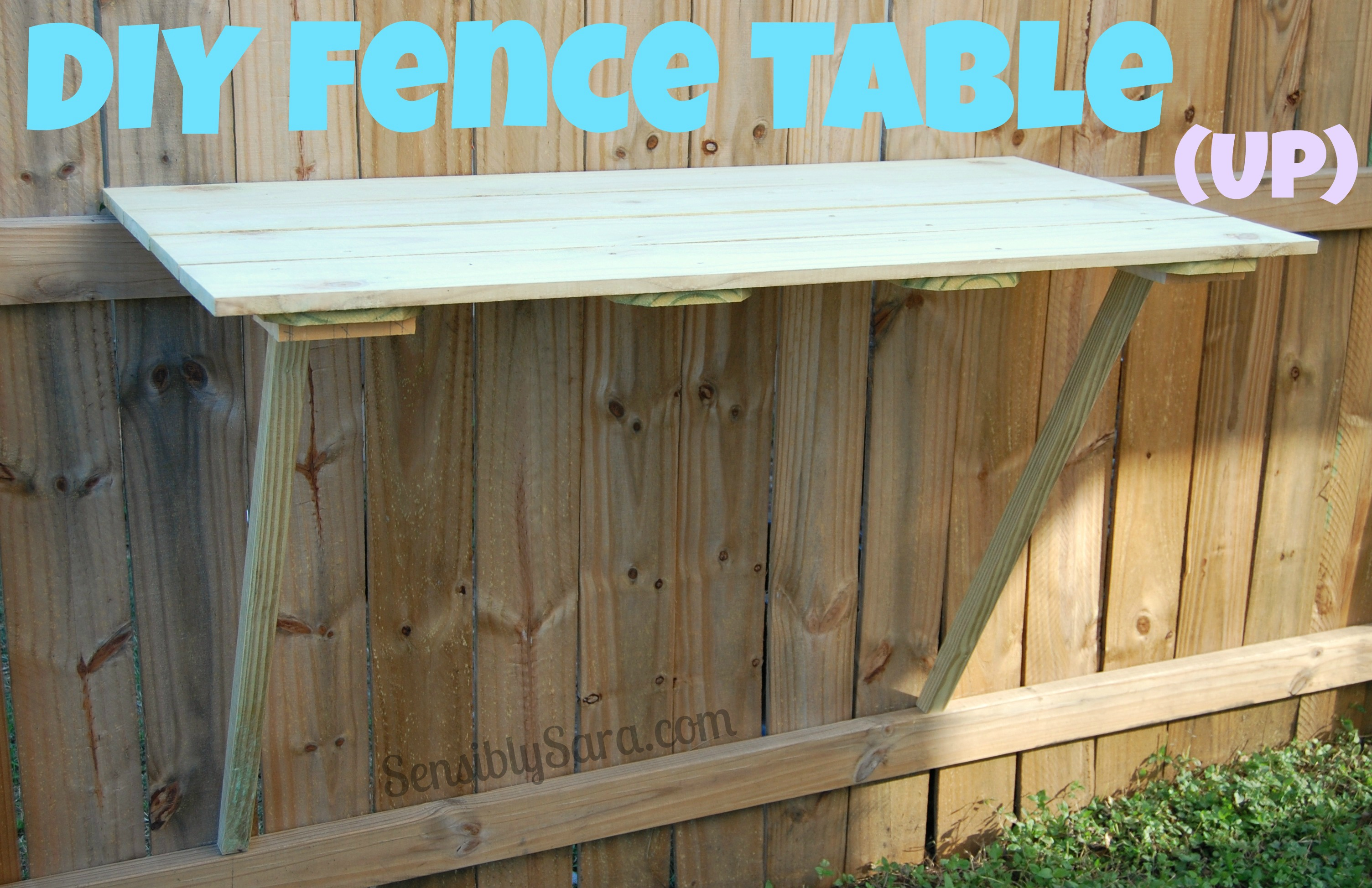 How To Make A Diy Fence Table For Your Backyard within 13 Awesome Initiatives of How to Make DIY Backyard Fence