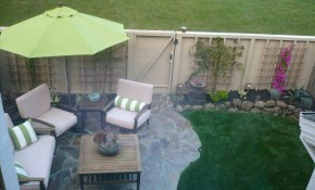 Ideas For Small Backyards Townhouse Front Yard Landscape Fence for Landscaping Small Backyards Townhouse