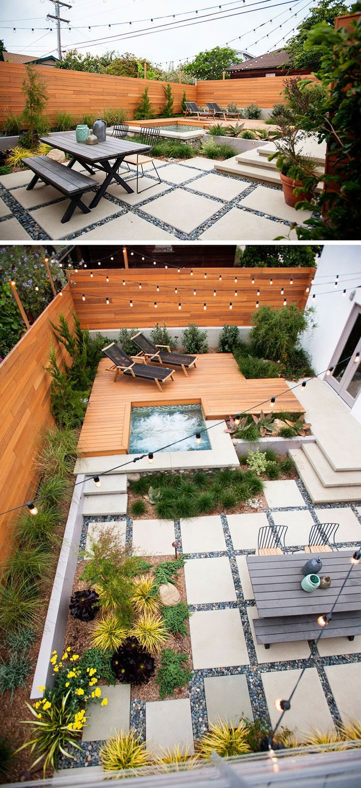 Landscaping Design Ideas 11 Backyards Designed For Entertaining with Backyard Stone Patio Design Ideas