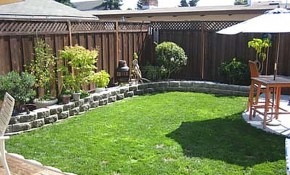 Landscaping Ideas For Small Yards Designs Dvmx Home Decor within 10 Genius Designs of How to Build Backyard Garden Ideas For Small Yards