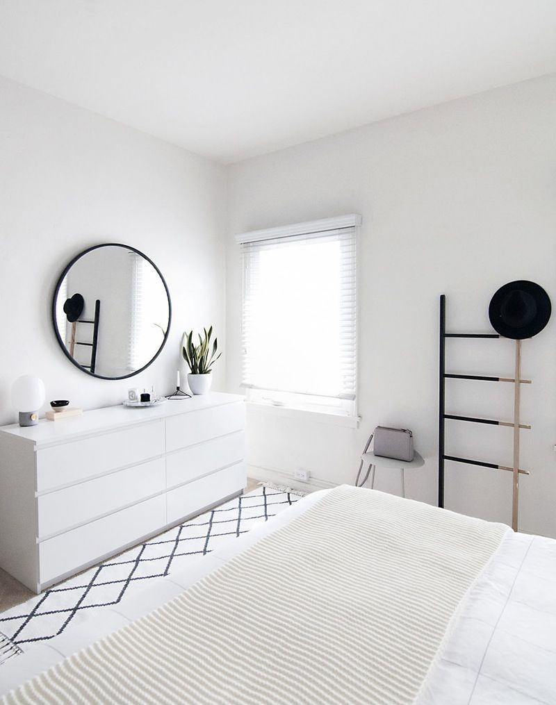 Make Your Small Space Feel Bigger With An All White Room Home with 15 Awesome Designs of How to Makeover All White Modern Bedroom