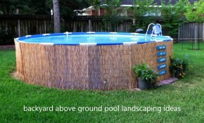 Modern Backyard Backyard Above Ground Pool Landscaping Ideas Small throughout 12 Smart Tricks of How to Upgrade Pool Landscaping Ideas For Small Backyards