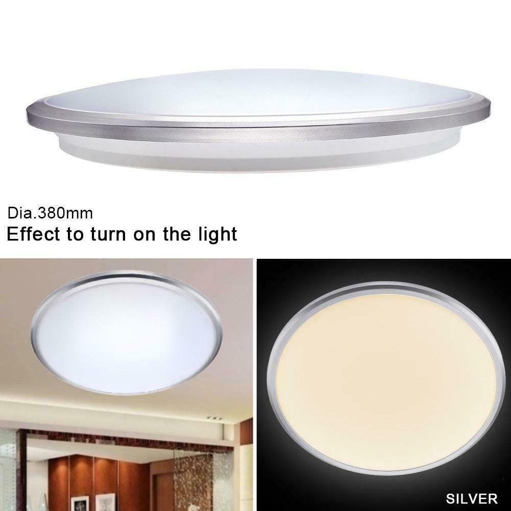 Modern Bedroom Round Led Ceiling Light 6000k White 40w Surface Mount throughout 11 Awesome Ways How to Craft Modern Bedroom Lighting Ceiling