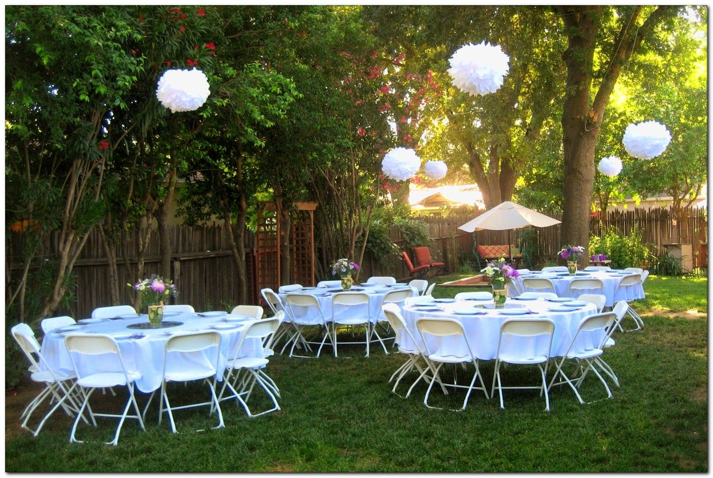 Pin Von Denise Banks Grasedyck Certified Professional Coach with Backyard Decorating Ideas For Parties