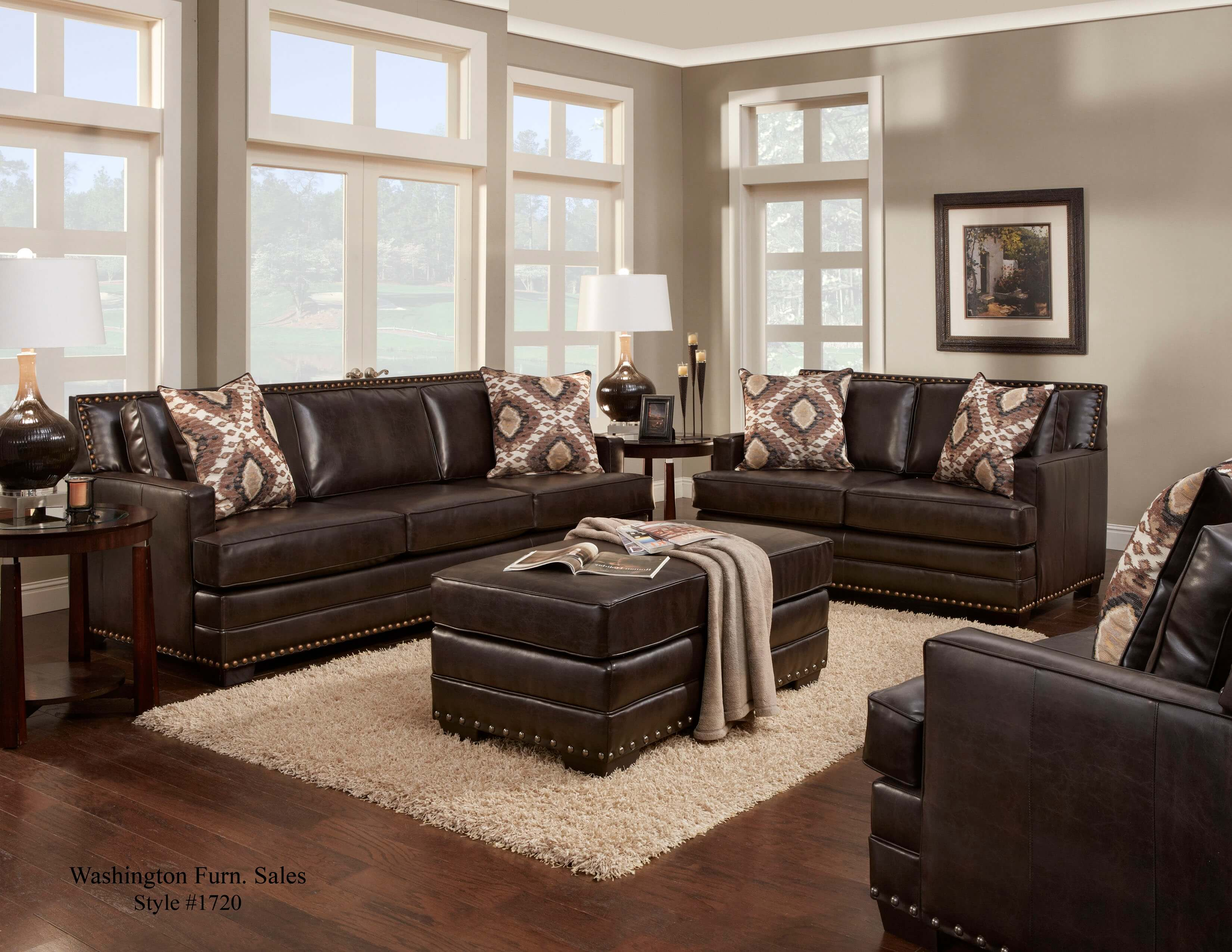 Poncho Saddle Sofa And Loveseat Leather Living Room Sets in 14 Some of the Coolest Initiatives of How to Craft Leather Living Room Sets