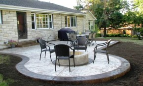 Raised Concrete Patio Ideas Awesome Patio Ideas How To Mix regarding 10 Awesome Tricks of How to Improve Cement Backyard Ideas