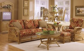 Rattan Living Room Furniture Rattan And Wicker Living Room Furniture intended for Wicker Living Room Sets