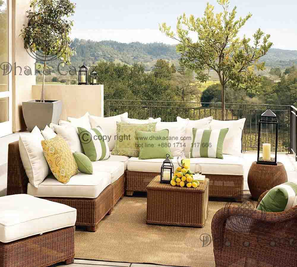 Rattan Living Room Sets Dclr 248 Dhaka Cane pertaining to Wicker Living Room Sets