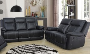 Red Barrel Studio Ahner 2 Piece Reclining Living Room Set Reviews pertaining to 11 Genius Concepts of How to Improve All Black Living Room Set