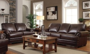 Shop Colton Brown 2 Piece Leather Living Room Set On Sale Free with regard to Leather Living Room Sets