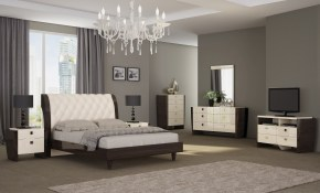 Shop Paris Contemporary 4 Piece Wood Bedroom Set Free Shipping pertaining to 14 Smart Concepts of How to Upgrade Modern Wood Bedroom Sets
