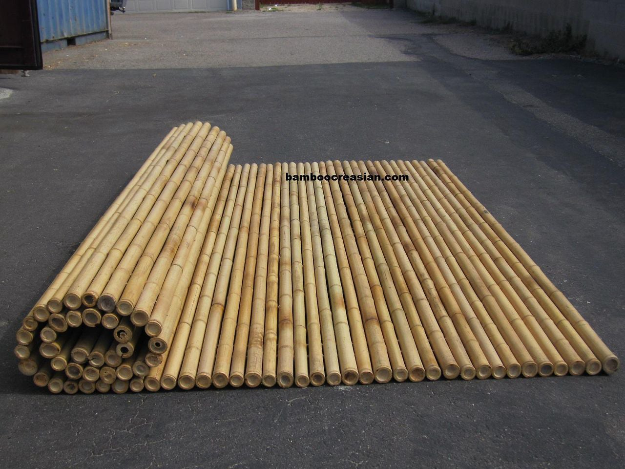 Tips Easy To Install Bamboo Fencing For Your Indoor Or Outdoor with regard to Backyard X Scapes Rolled Bamboo Fencing