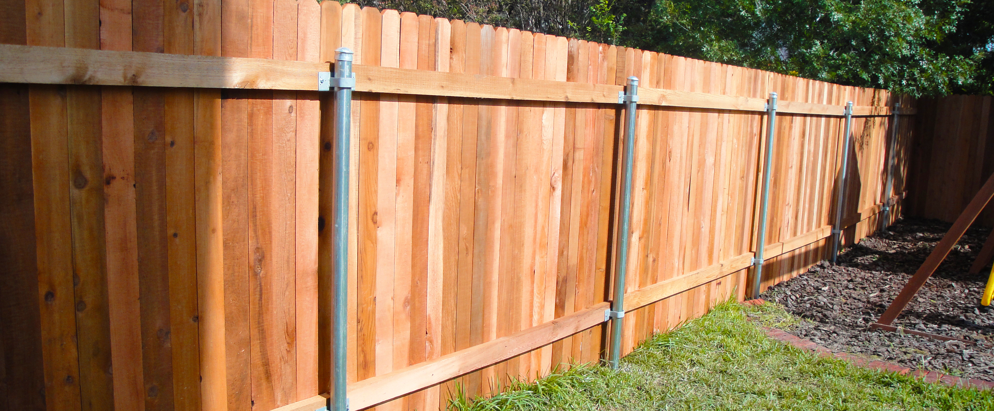 Wood Privacy Fences Austin Tx Ranchers Fencing Landscaping in Fence Backyard Cost