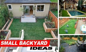 Wow Small Backyard Ideas With Grass Youtube in New Backyard Ideas
