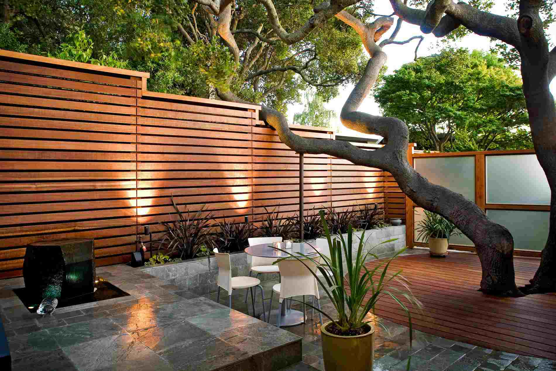 13 Ways To Gain Privacy In Your Yard pertaining to 12 Some of the Coolest Designs of How to Makeover Backyard Privacy Fence Ideas