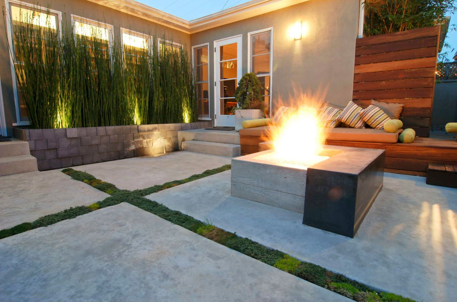 15 Beautiful Concrete Patio Ideas And Designs regarding 15 Awesome Designs of How to Makeover Backyard Concrete Ideas
