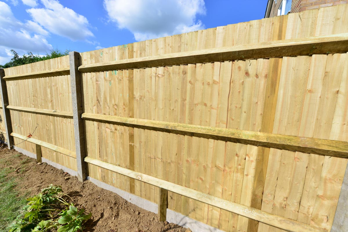 2019 Wood Fence Costs Cost To Install Privacy Fence Per Foot pertaining to Backyard Wood Fence