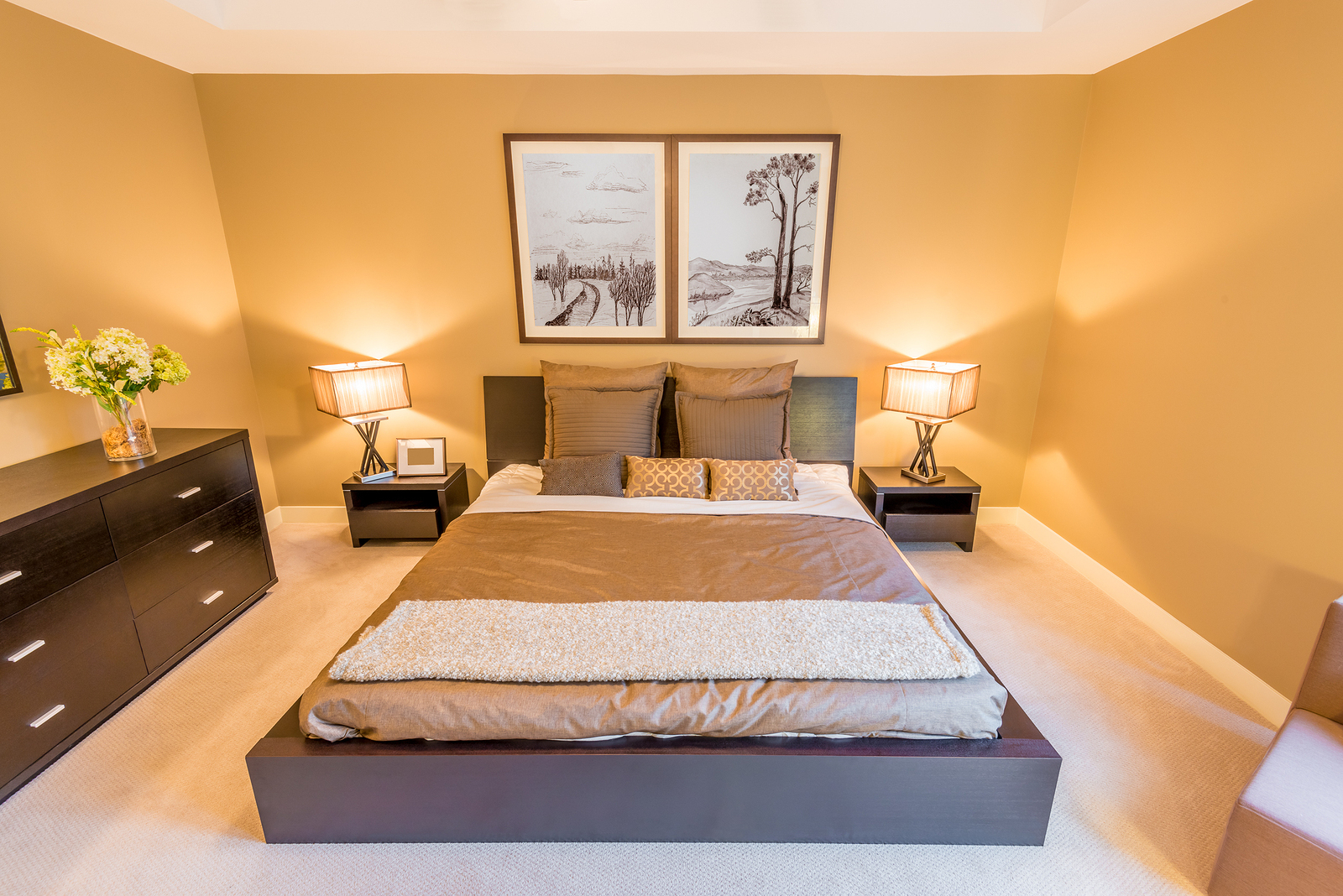 4 Modern Bedroom Interior Design Themes within 13 Awesome Tricks of How to Build Modern Bedroom Decorations