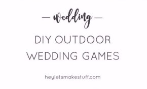41 Best Diy Ideas For Your Outdoor Wedding with regard to Backyard Wedding Decorating Ideas