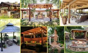 47 Decorating Ideas Backyard With Patio Design Homiku inside Decorating Ideas For Backyard